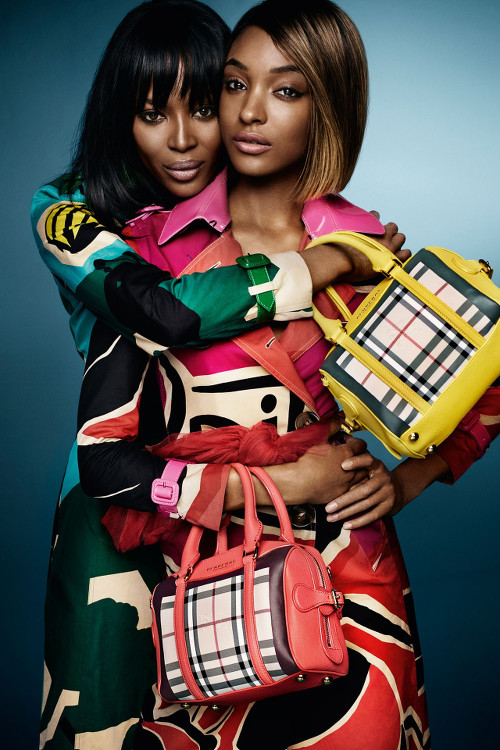 Naomi Campbell, Jourdan Dunn, Burberry