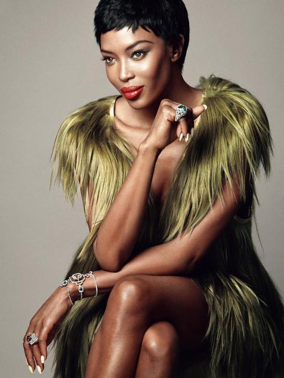 Naomi Campbelle Madame Figaro