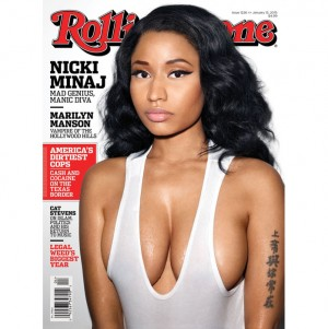 Nicki Minaj Covers Rolling Stone. Talks Abortion and Why Some Black Artists Aren't Talking About Race and Police Brutality.