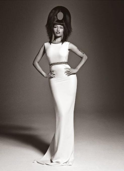 Francesco-Carrozzini, Nicki Minaj, Vogue Italia, Italian Vogue, Celebrity Fashion