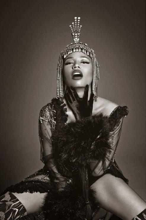 Editorials. Nicki Minaj. Vogue Italia December 2014. by Francesco Carrozzini.