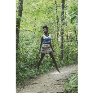 Images.  Sara Naomi.  In the Woods. by James Pennie.