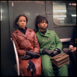 Images.  On the Subway in New York City in the 1960's.  by Danny Lyon.
