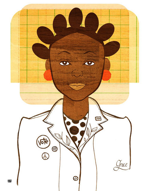 Tabitha Brown, Black Women Art, Black Contemporary Artists, Black Women Illustrations