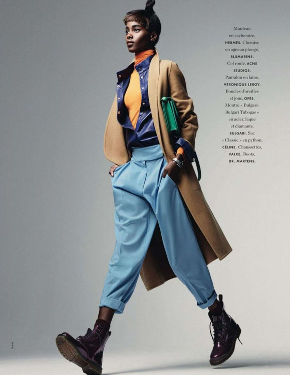 Tami Williams, Elle France, Sakay