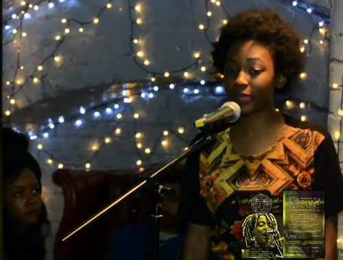 'Stop cutting down everything that is brown and breathes.' London Poet Theresa Lola Performs 'We Are Not Trees.'