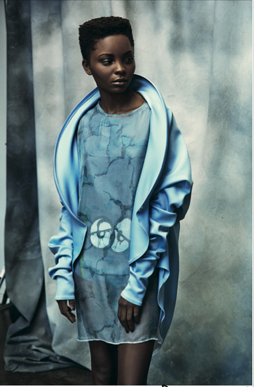 Editorials. Yolanda Tito. Elle South Africa. Images by Lee Moami.