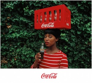 Art. 'Black Coca-Cola.' Tony Gum Creates a Series of Retro-Inspired Coco-Cola Ads.