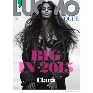 Ciara is Sultry and Stylish in L'Uomo Vogue. Images by Francesco Carrozzini.