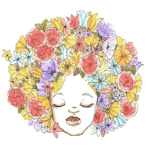 Affordable Art.  Prints and Accessories Featuring Original Illustrations Celebrating Natural Hair From Coily and Cute.
