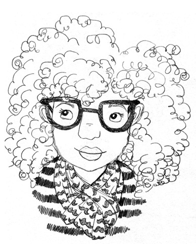 sharee Kendall Miller, Coily and Cute, Black Women Illustrations