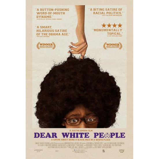 Dear White People Poster Justin Simien