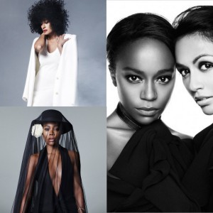 Tracee Ellis Ross, Gabrielle Union, and Aja Naomi King Feature in Elle Magazine's 2015 'Women in TV' Issue.
