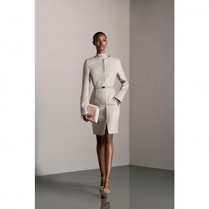 Collections. Fatima Siad.  Halston Heritage Pre-Fall 2015.