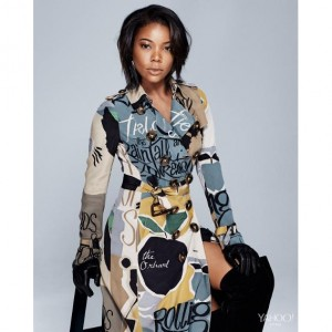 Editorials.  Gabrielle Union.  Yahoo Style.  Images by Maria Karas.