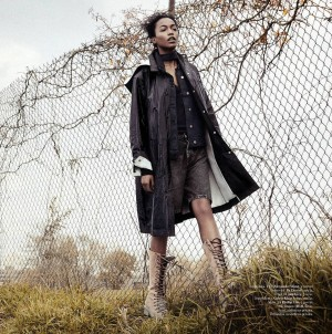 Editorials.  Genesis Vallejo.  Styleby. Images by Andreas Öhlund & Maria Therese.