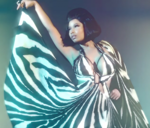 Nicki Minaj Shines in This Campaign Video for Roberto Cavalli Spring/Summer 2015.
