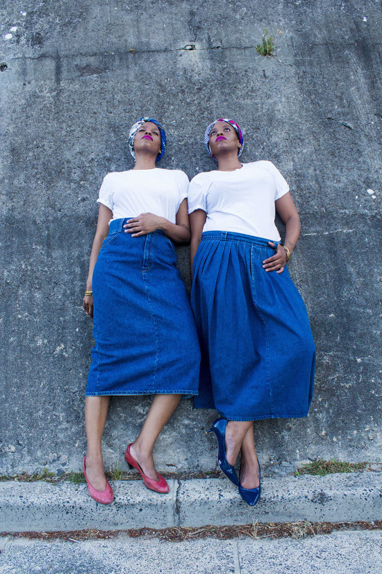 Carbon Copy, Noncedo and Nonzuzo, Black Women Art