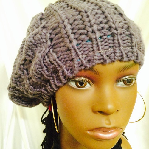 ... Natural Hair Protective Winter Styles. 5 Stylish Satin Lined Knit Hats  That Will Keep You Warm And Your 3711918f5a3