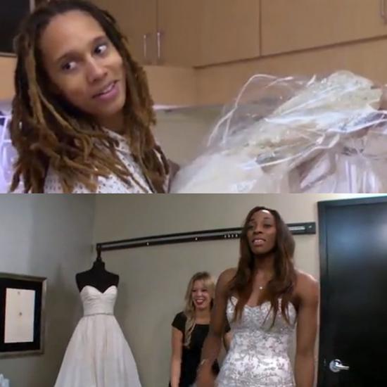 Brittney Griner In A Dress WNBA Stars Brittney Gr...