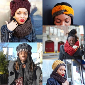 Shop This.  Keep Warm in these Chic, High Quality Knit Accessories from THRONEsj.