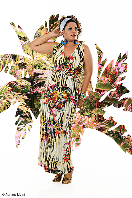 Adriana Libini Fashion, Plus-Size Fashion, Plus-Size Fashion Editorials