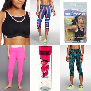 25 Affordable, Stylish Workout Finds For All Sizes.  Most Under $25.00.
