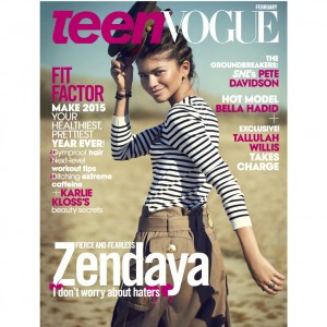 Zendaya Covers the February 2015 Issue of Teen Vogue.