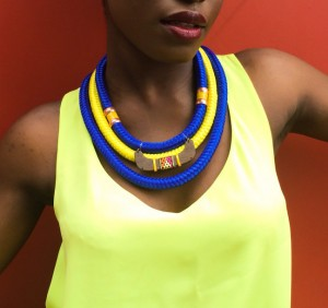 Shop This.  The 'Peace, Love & Colour' 2015 Collection by  Ziindya Créations.