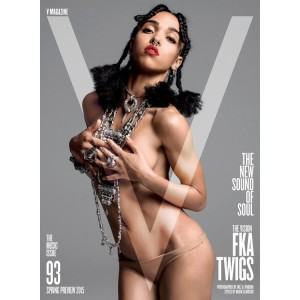 FKA twigs Covers V Magazine. Image by Inez van Lamsweerde & Vinoodh Matadin.