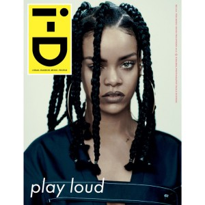 Rihanna Covers i-D Magazine's pre-Spring 2015 Issue.