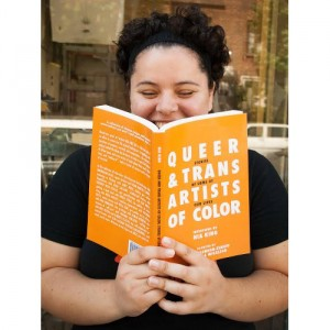 Good Reads.  'Queer and Trans Artists of Color: Stories of Some of Our Lives.' by Nia King.