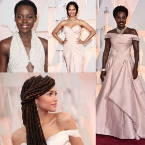 I Didn't Watch The Oscars Last Night.  But, Look At These Stunning Women in Pretty Dresses.
