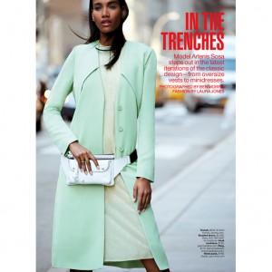Editorials.  Arlenis Sosa Peña .  Lucky Magazine March 2015.  Images by Ben Morris.