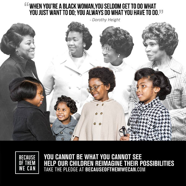 Because of them we can, Black History MOnths, Black History Month Kids Education