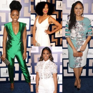 Red Carpet Fashion.  The Essence 'Black Women in Hollywood' Luncheon.