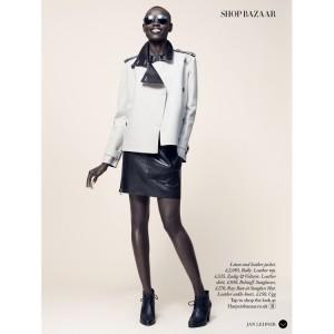 Editorials. Grace Bol. Harper's Bazaar UK.  March 2015. Images by Jan Lehner.