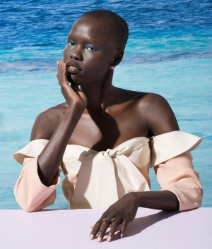 Editorials. Grace Bol. W Magazine February 2015.  Images by Marko MacPherson.