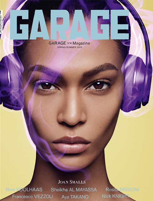 Joan Smalls Garage Magazine