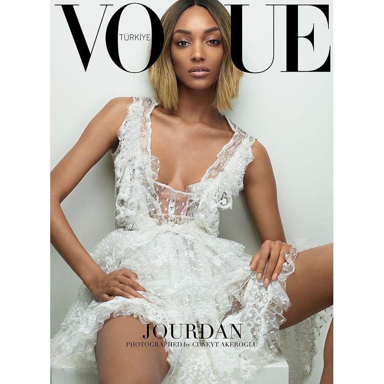Jourdan Dunn, Vogue Turkey, Cuneyt Akeroglu
