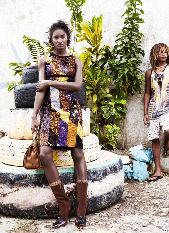 Melodie Monrose, Liz Collins, Black Fashion Models,