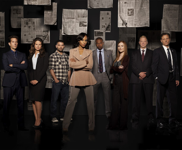 Cast of ABC's Scandal