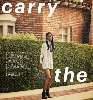 Editorials.  Senait Gidey.  Marie Claire US March 2015.  Images by Ben Grieme.