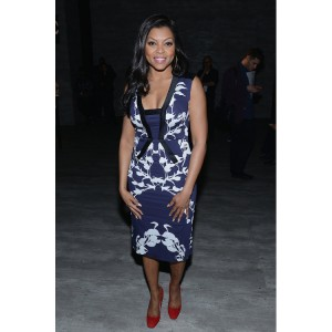 Paparazzi Files.  Taraji P. Henson at New York Fashion Week.