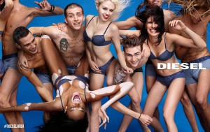 Winnie Harlow Features in Diesel's SS15 Campaign.