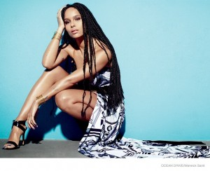 Editorials. Zoë Kravitz. Ocean Drive.  Images by Warwick Saint.