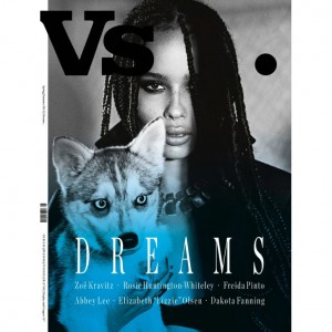 Editorials. Zoe Kravitz.  VS Magazine. Images by Jonas Bresnan.