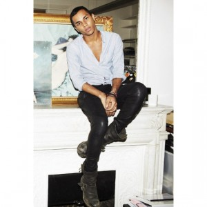 Quick Quotes.  Balmain's Olivier Rousteing Talks Diversity in Fashion and in France.