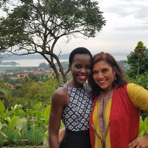 Lupita Nyong'o Shares an On-Set Snapshot From Uganda.
