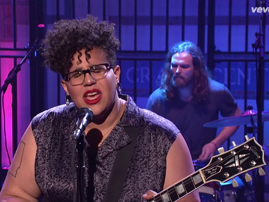 Alabama Shakes' Brittany Howard remembers playing with Prince